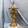 Đèn thờ bằng đồng hoa văn rồng phượng