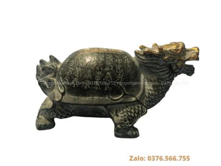 Linh Quy- Rùa đầu rồng bằng đồng phong thủy