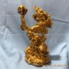 Tượng rồng phong thủy mạ vàng