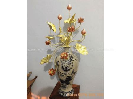 Lo hoa bang dong mau 3