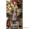 Tượng Trần Quốc Tuấn bằng đồng khảm tam khí