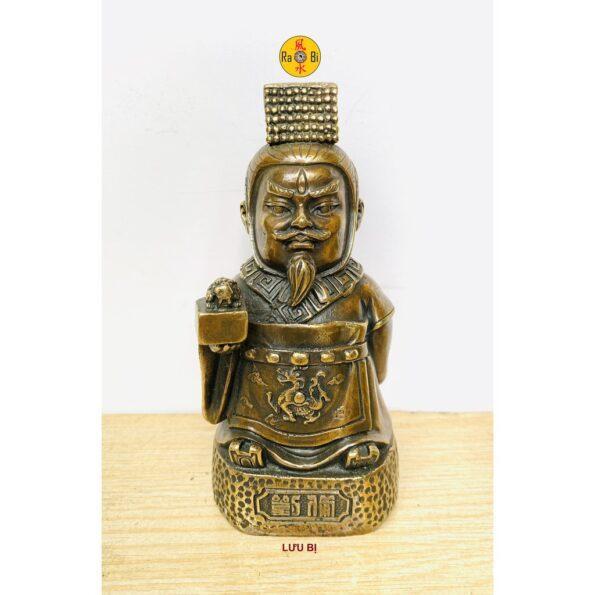 tượng đồng Lưu Bị
